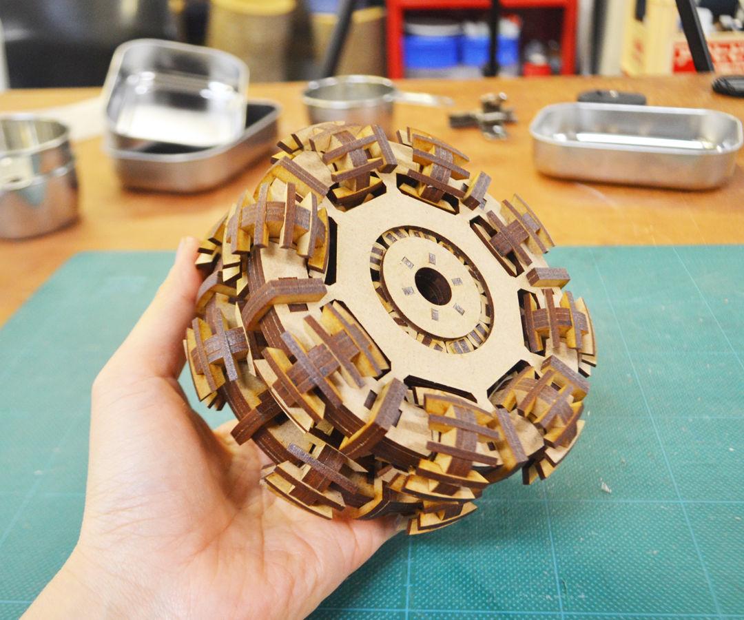 MDF omni wheel