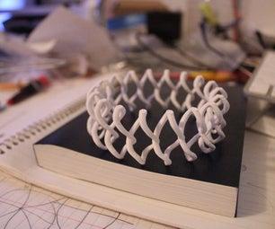 3D Printed Twisty Bracelet