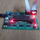 LED Pattern2 Using ATMEGA16