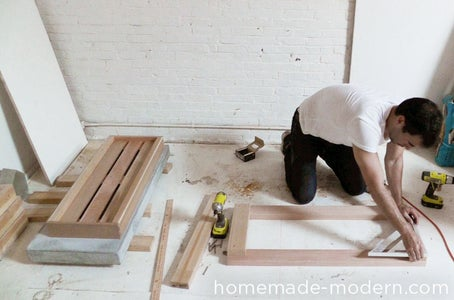 Assemble the Top Frame