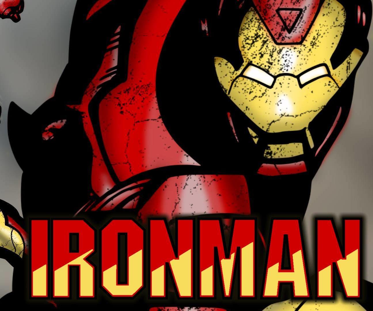 Sketch to Digital Art - Iron Man