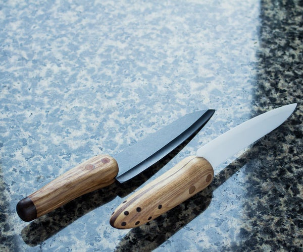 How to Rehandle Ceramic Knives