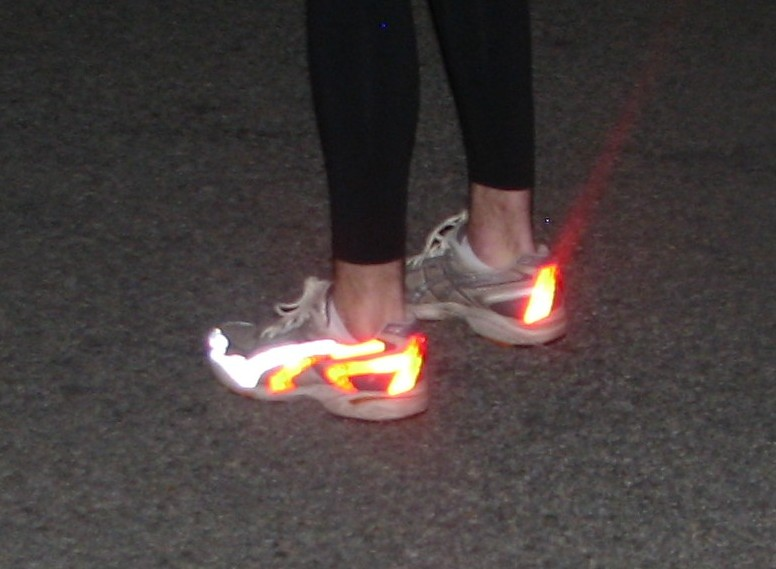 Safe Sneaks(Glow/Reflective shoes)
