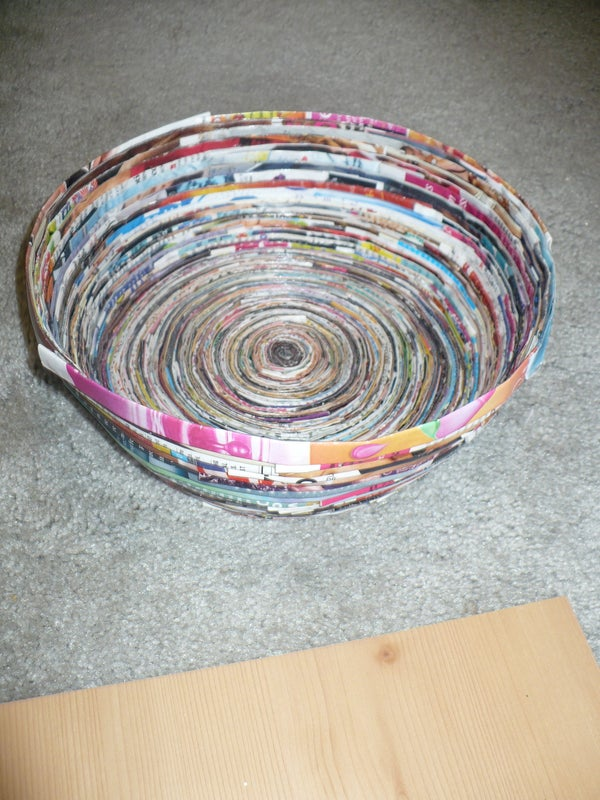 How to Make a Magazine Bowl and Coasters