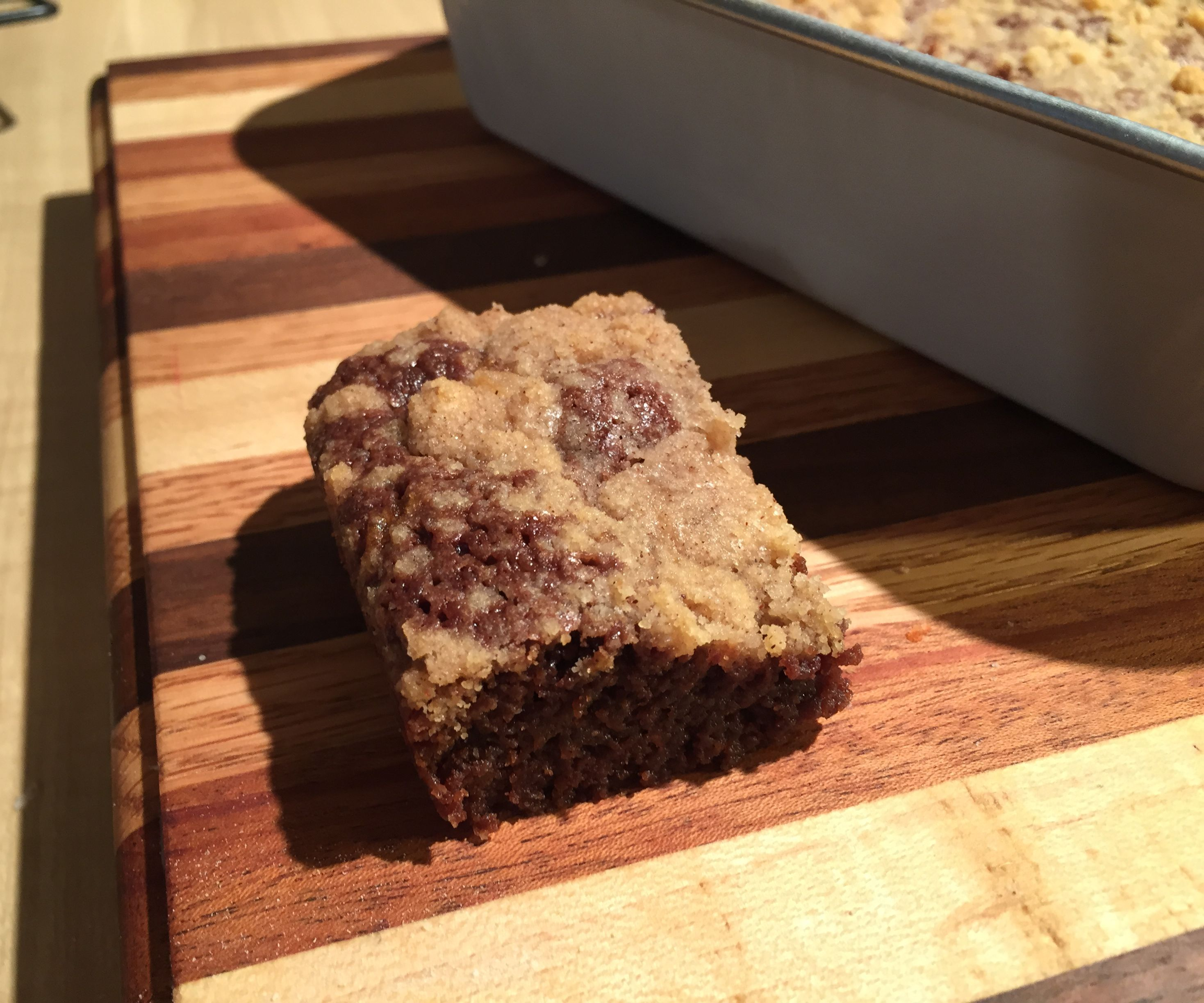 Streusel Brownies   Easy and Delicious