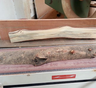 Cut the Log and Prepare