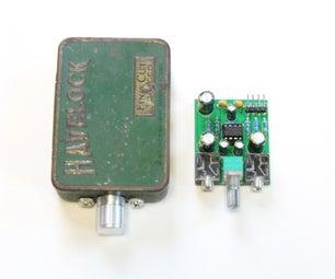 带自定义PCB的头部电话放大器