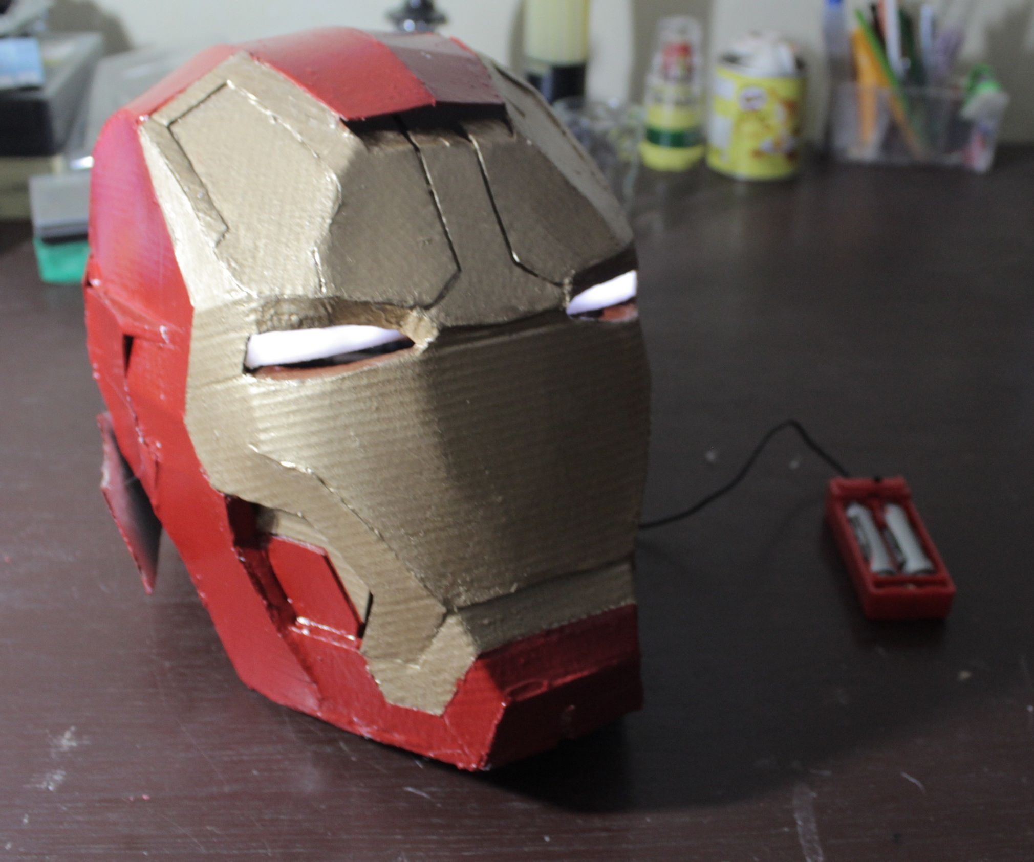 Ironman's Helmet Out of Cardboard