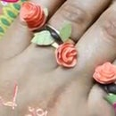 Quilled Flower Rings