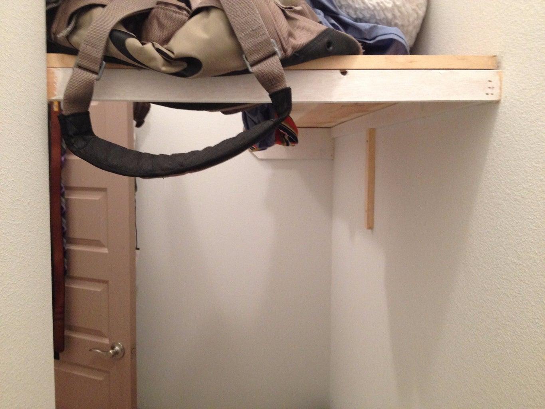 Closet With Hidden Safe Room
