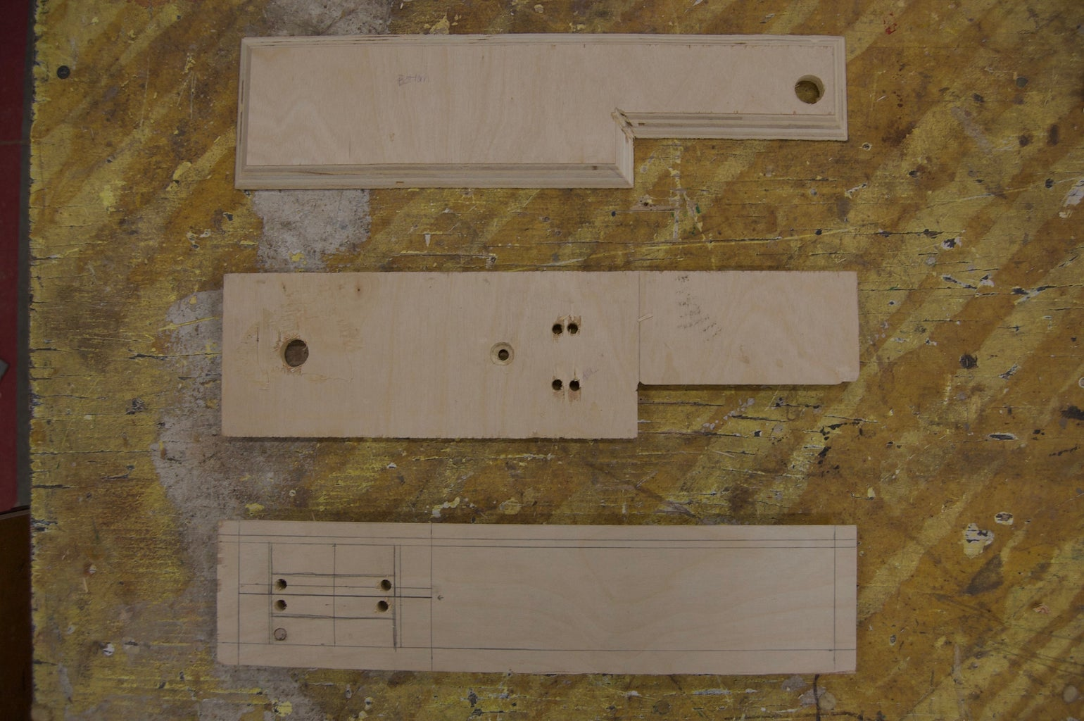 Drill Holes Into Your Wood and Rubber Stopper