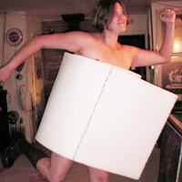 Toilet Paper Costume
