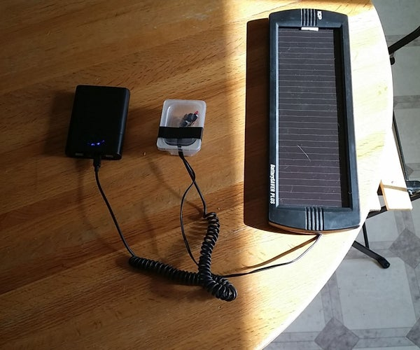 Recycled Solar USB Charger Build 2