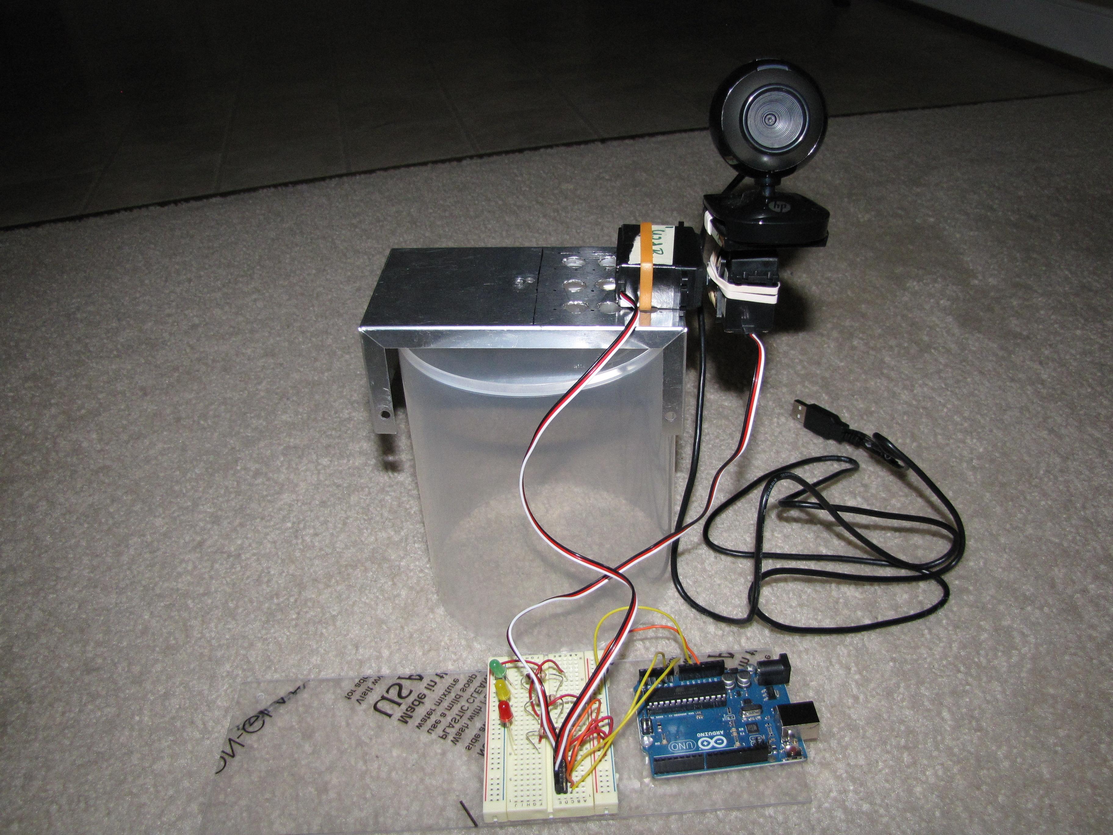 Arduino + 2 servos + mouse