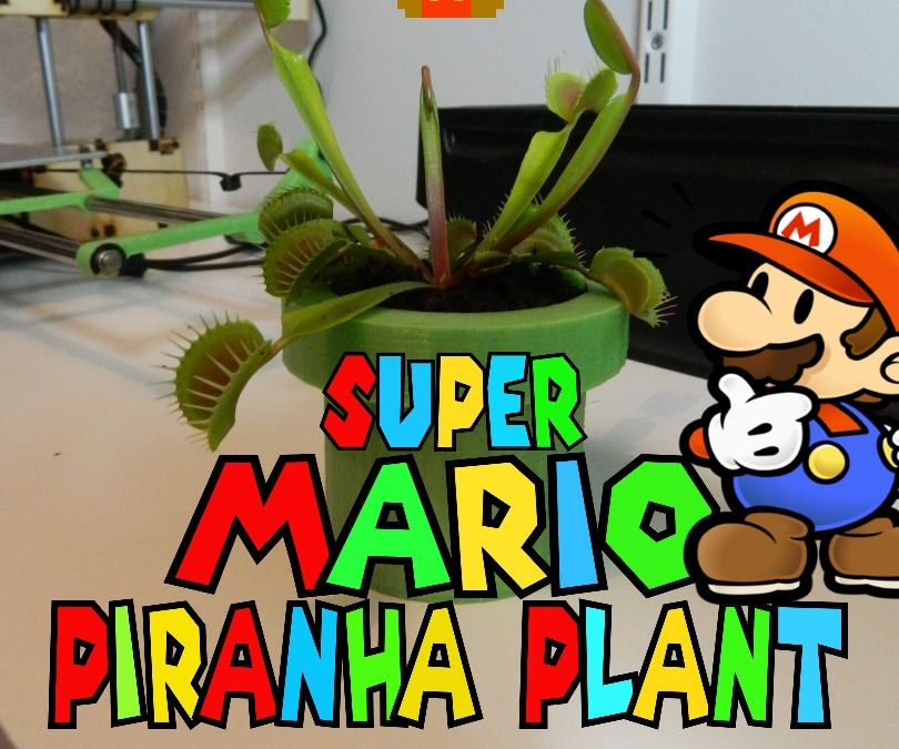 DIY Piranha Plant