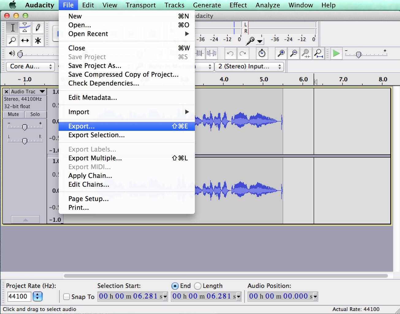 Audio: Recording Comments