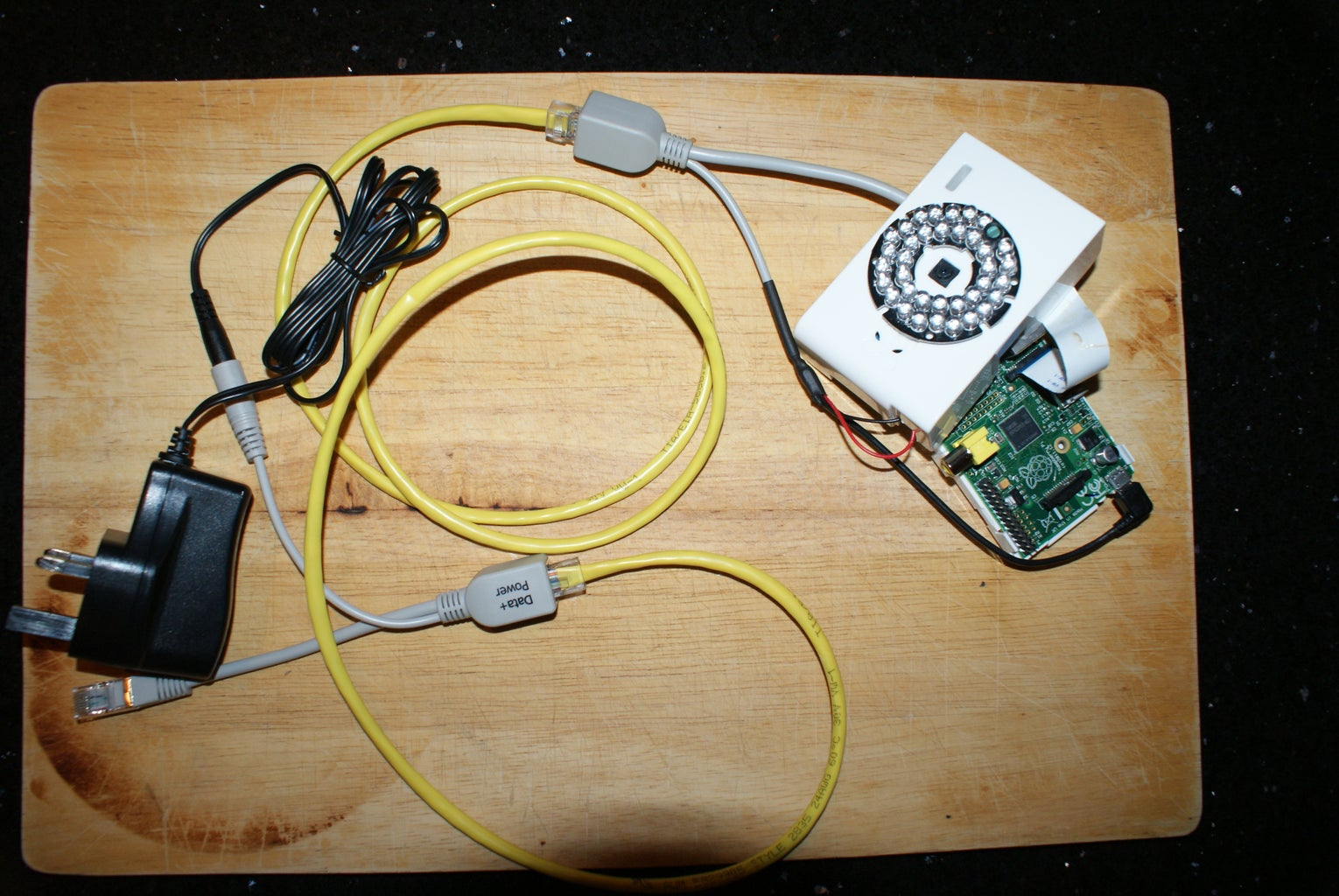 Set-up the Cheapest Ever Power-over-Ethernet