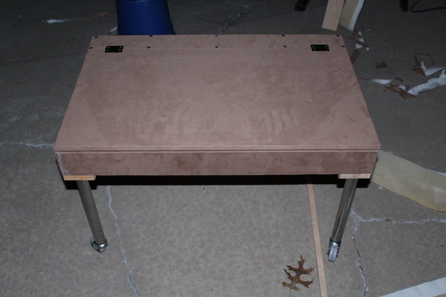Assembling the Desk