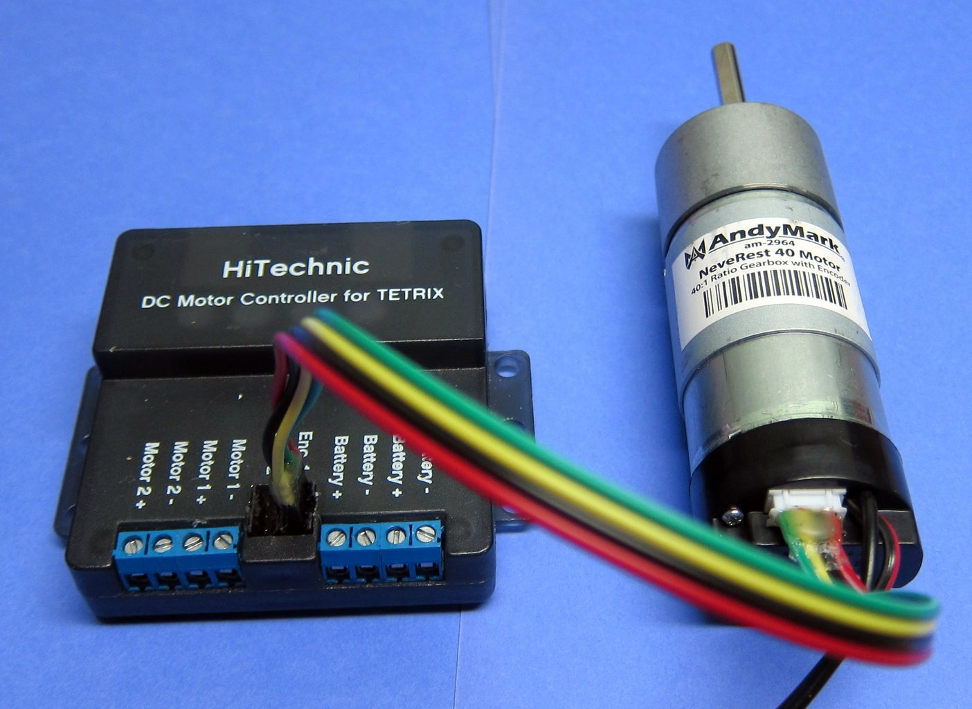 FTC - Encoder Cables for AndyMark NeveRest Motors