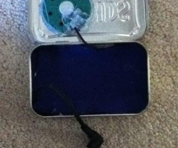 The Altoids Tin IPod Speaker/Case!