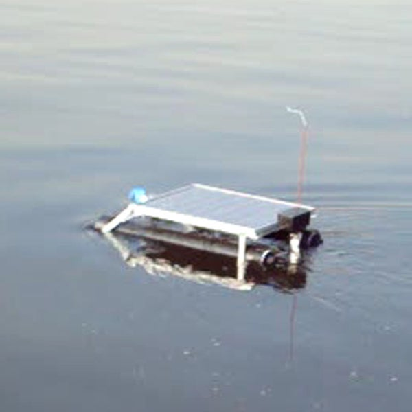 Build an ALL SOLAR Remote Controlled Boat RC Boat Using Solar Attic Fan Parts -Rescue Boat-
