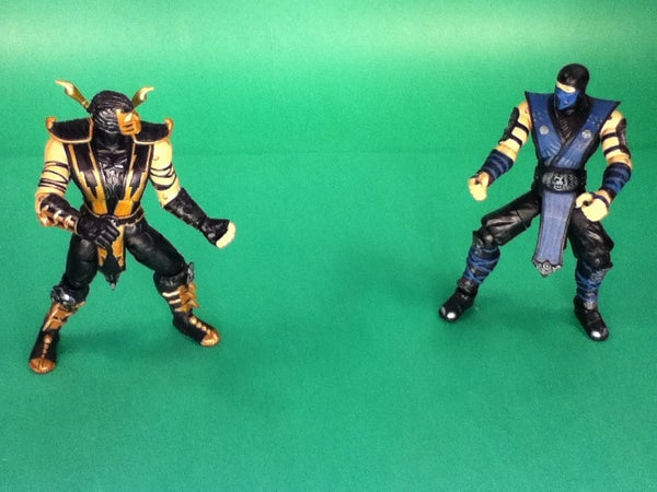 Mortal Kombat Stop Motion Animation