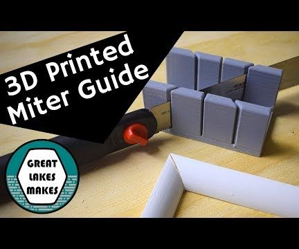 How to Make a 3D Printed Miter Guide With Fusion360