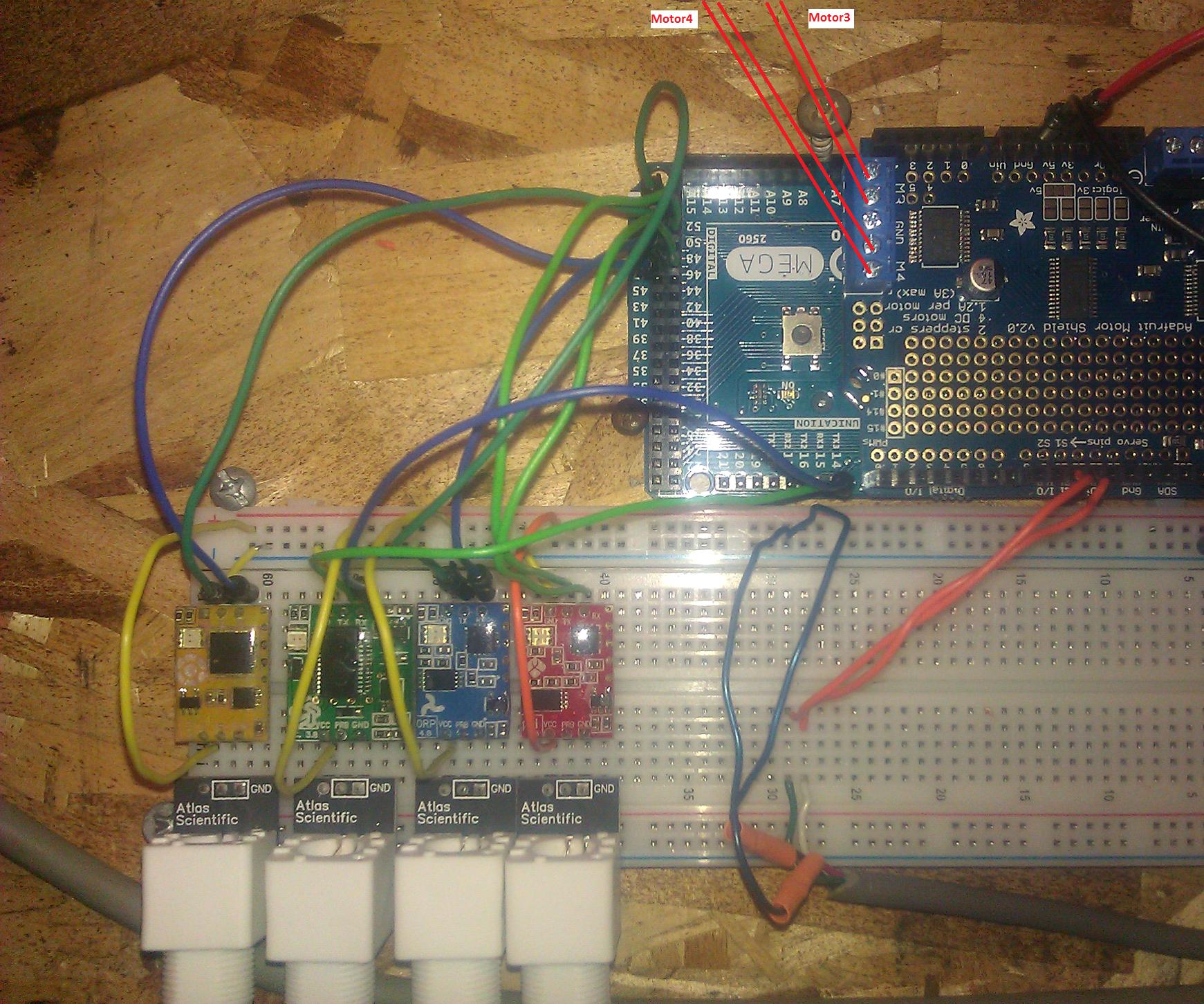 Arduino system for Biomonstaaar bioreactor