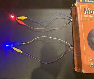 Simple Coin Button LED Switch (Using Weight)