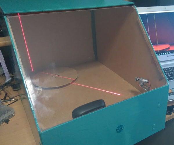 DIY Arduino 3D Laser Scanner