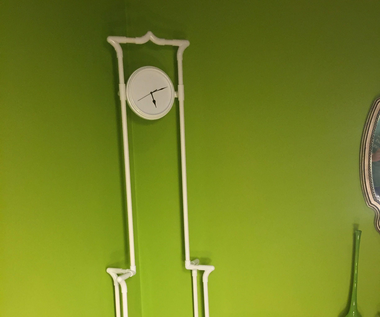 Silhouette Floor Clock
