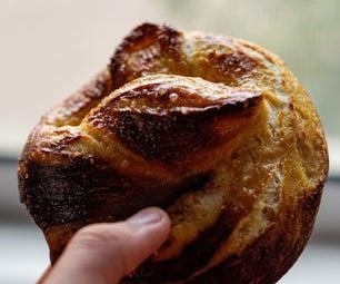如何在四个简单的步骤中制作椒盐卷饼