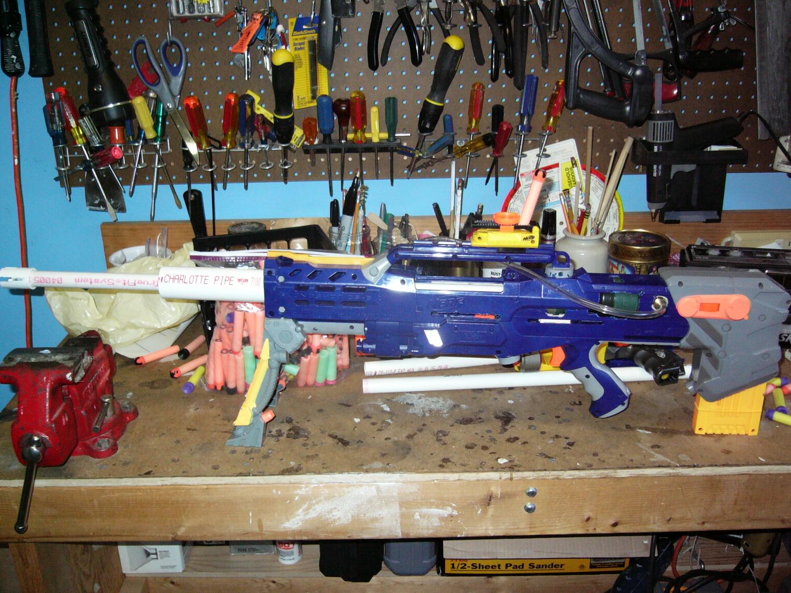 120' Bazooka Powered Longshot