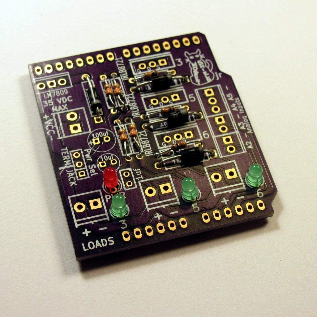 LEDs, Capacitors