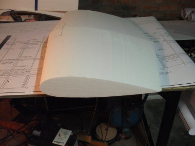 Preparing the Wing for Covering.