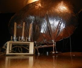 Arduino-Radio Controlled Hydrogen Blimp