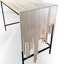 Plywood Waterfall Desk (Made From Scrap)