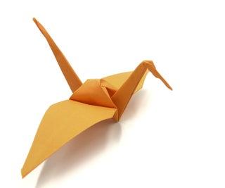 Tutorial Grulla De Papel Origami Paso a Paso