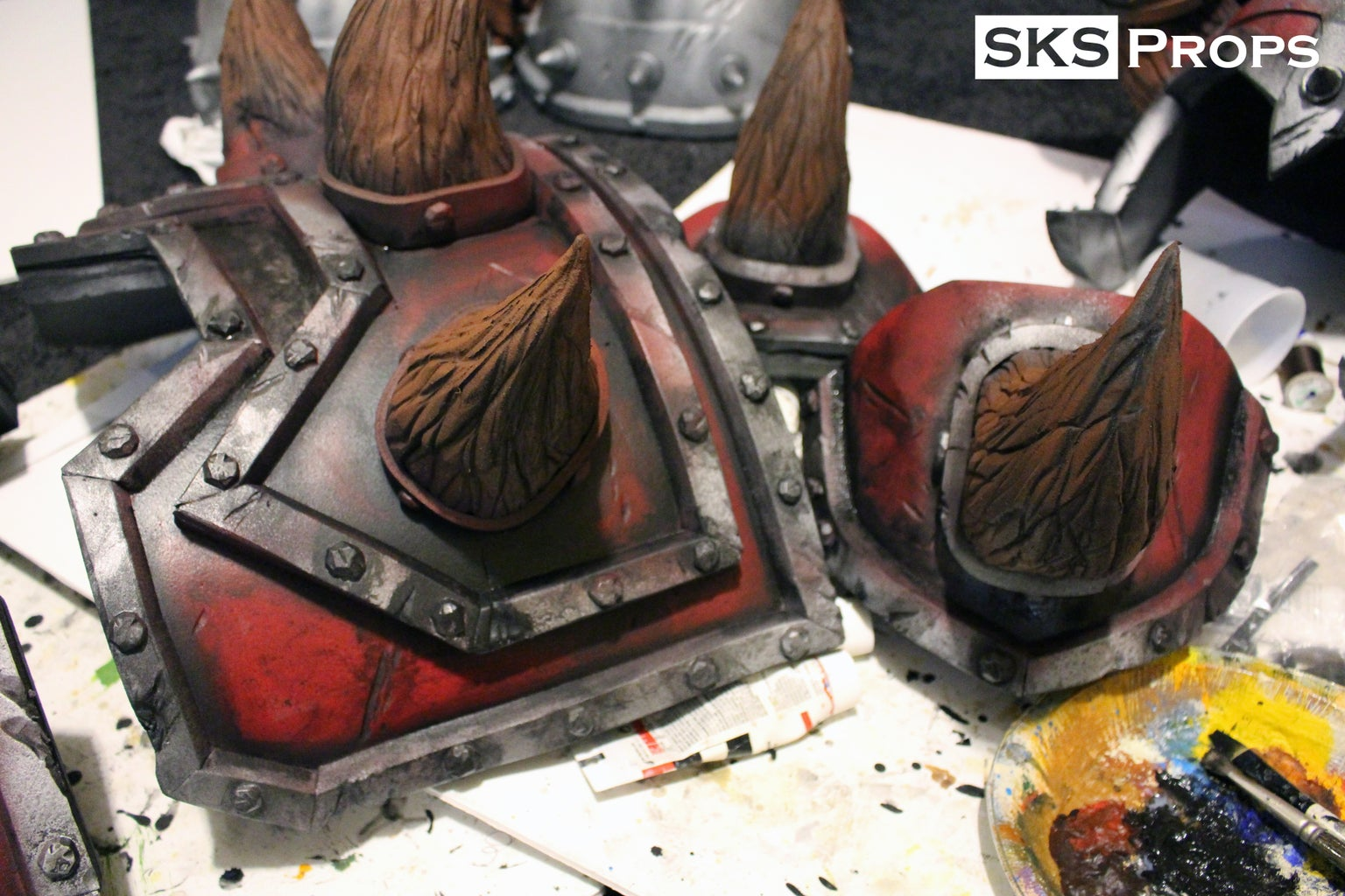 Painting Process - Hand Painting Armor
