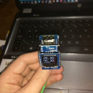 Wemos D1 Mini Temperature/humidity Monitoring