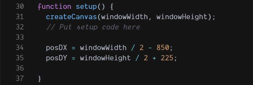 Funcion Setup()