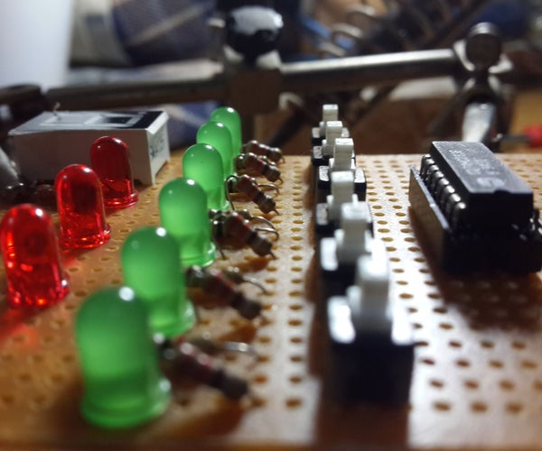 Voting System by Using 4-bits Parallel Adder