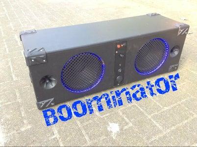 The Boominator: 360° of 115dB Music