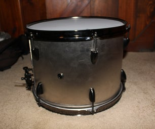 Build a Metal Marching Snare Drum !