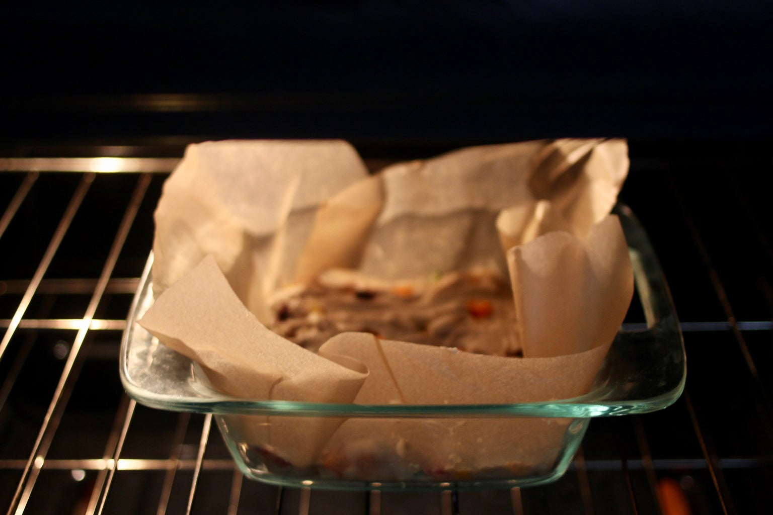 Place on the Center Rack in the Oven.