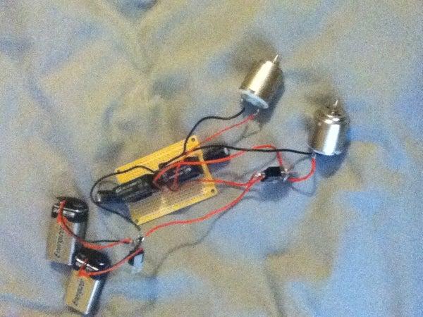 Dual Random Speed  Motor Circuit