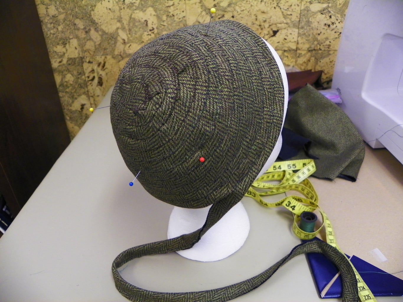 Starting the Crown of the Hat