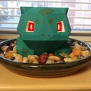 How to Paint 3D Printed Bulbasaur Planter