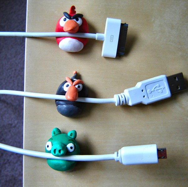 Angry Birds Cable Holders