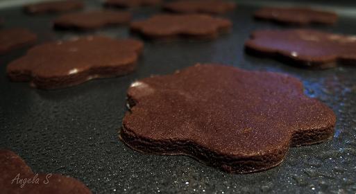 Cut Cookie Dough